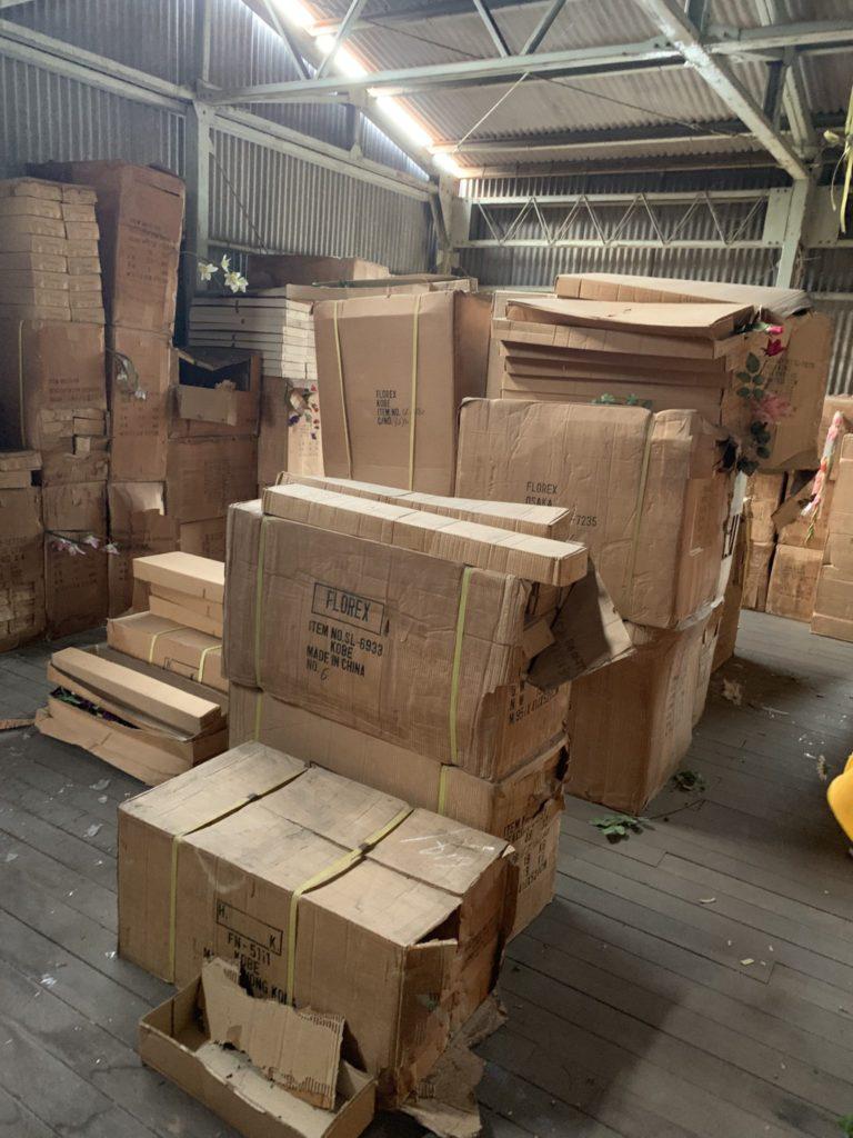 大阪府堺市の倉庫整理 大量の不用品処分前7