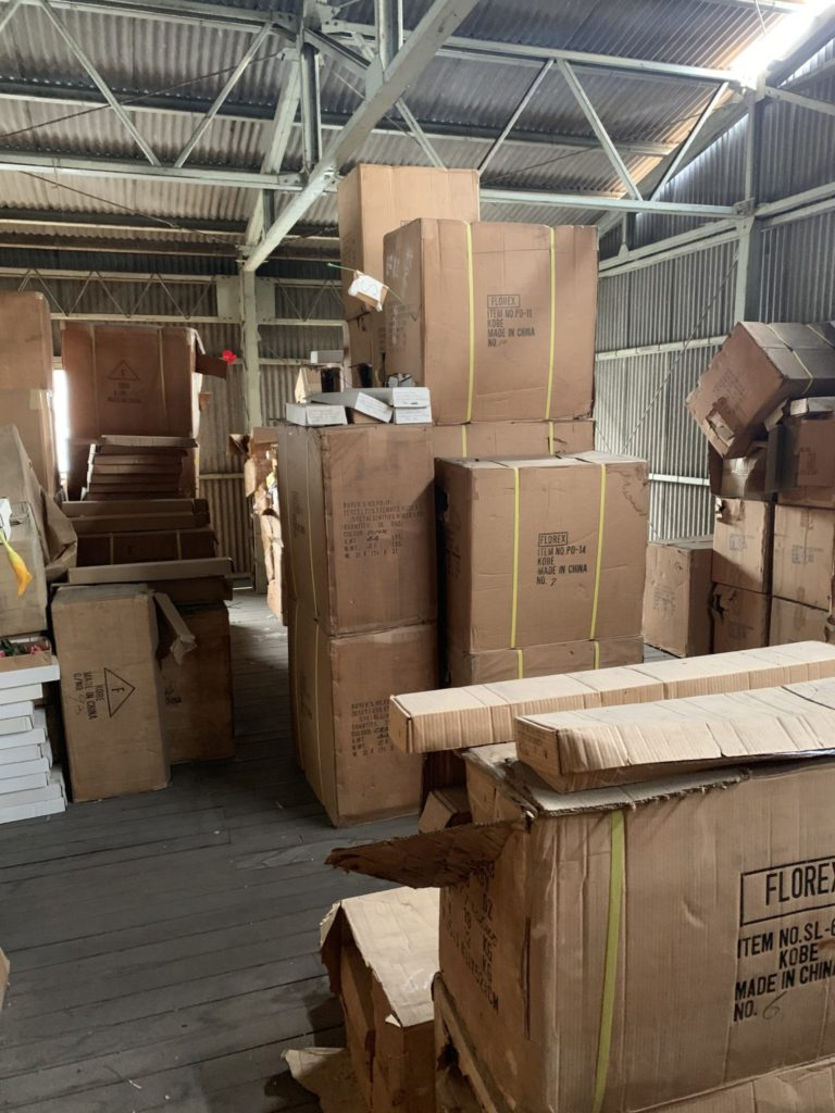 大阪府堺市の倉庫整理 大量の不用品処分前8