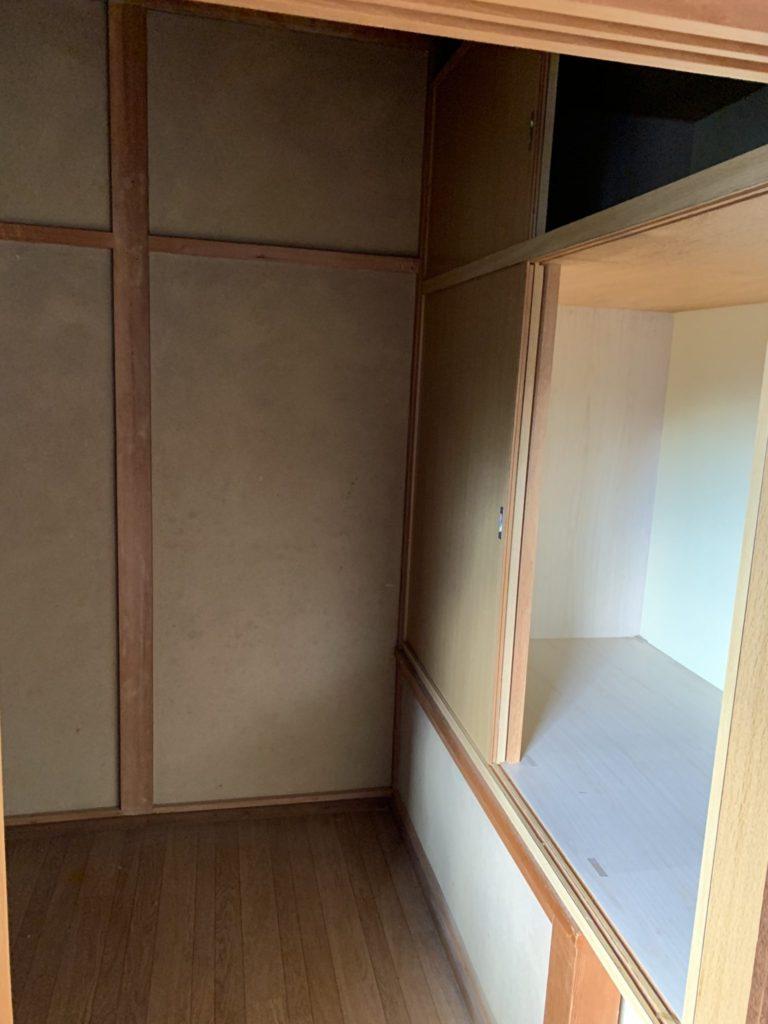 大阪府富田林市M様40台女性家一軒まるごと整理大量の不用品処分後4