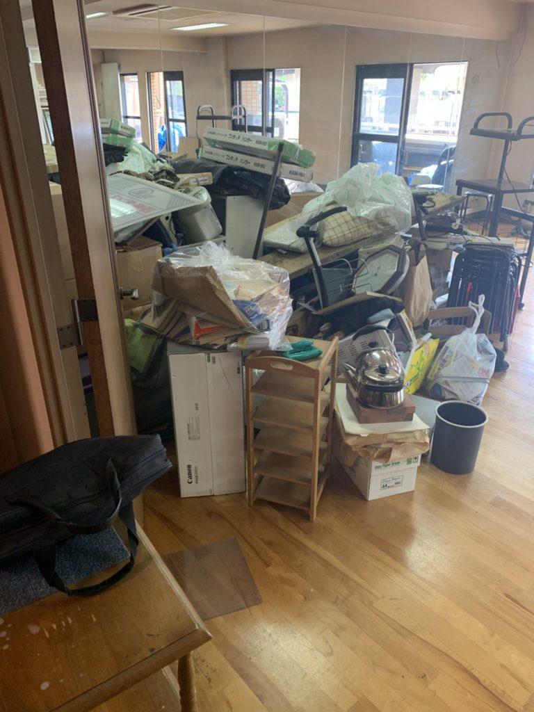 大阪市平野区 店舗・会社・倉庫・工場などの整理・不用品処分 事業者のお客様 前2