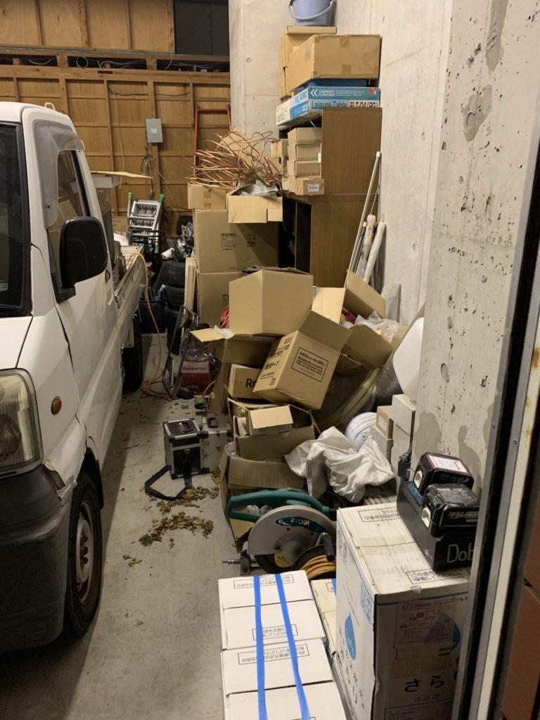 法人のお客様事務所整理・お片付け・大量の不用品処分1