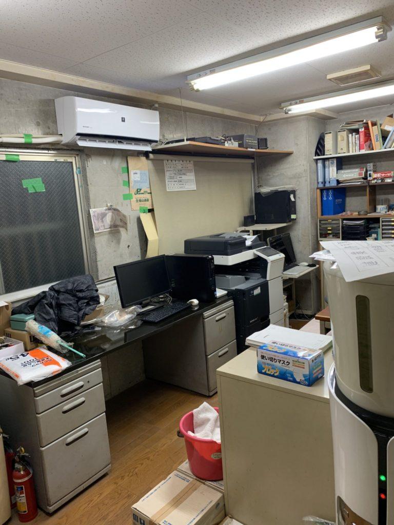 法人のお客様事務所整理・お片付け・大量の不用品処分6