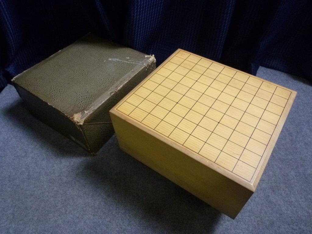 大阪市阿倍野区にて将棋盤を買取させて頂いたクリニーズの不用品買取事例