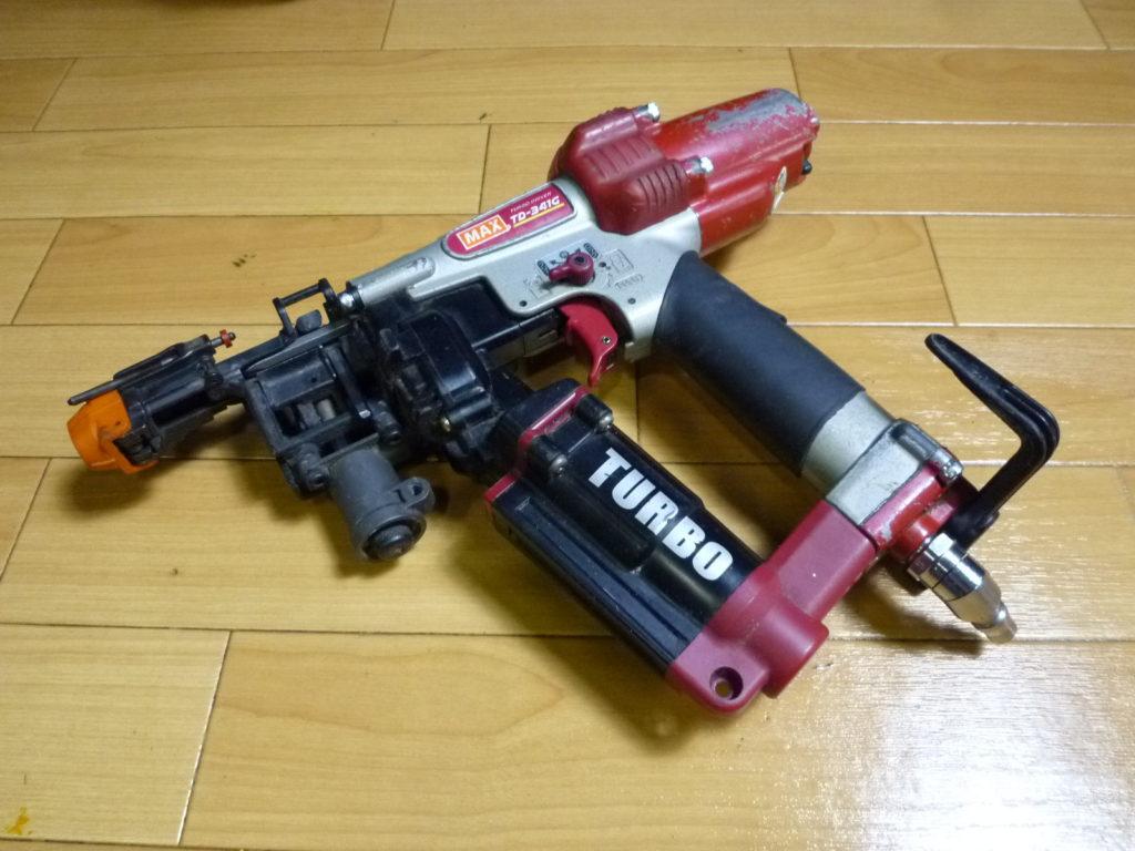 大阪市東淀川区にてMAXのエア釘打ち機を買取させて頂いたクリニーズの不用品買取事例