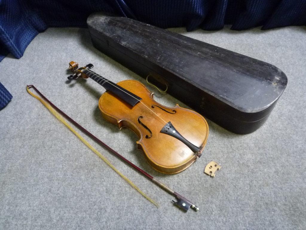 クリニーズによる大阪市北区にてSUZUKIのバイオリンの不用品買取事例