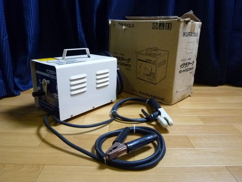 大阪府堺市にてイクラのアーク溶接機を買取させて頂いたクリニーズの不用品買取事例