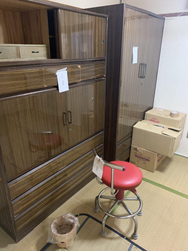 大阪市生野区40代男性 大量の不用品処分 引越しサービス前4