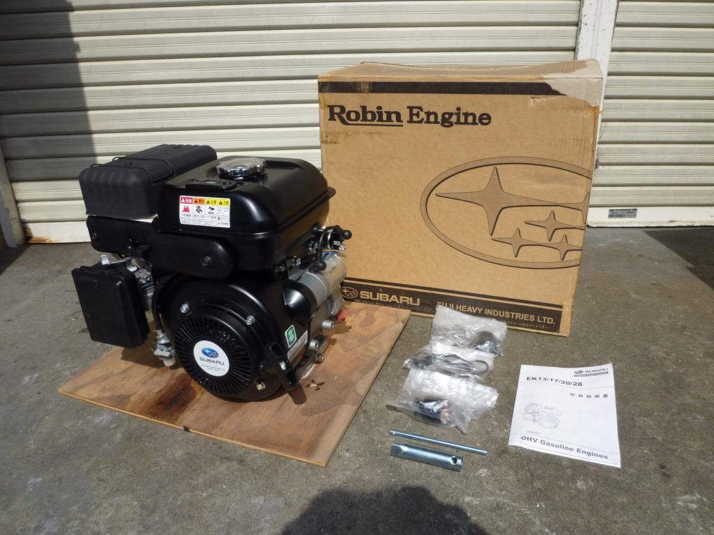 大阪府寝屋川市にてSUBARU スバルのエンジン発動機を買取させて頂いたクリニーズの不用品買取事例