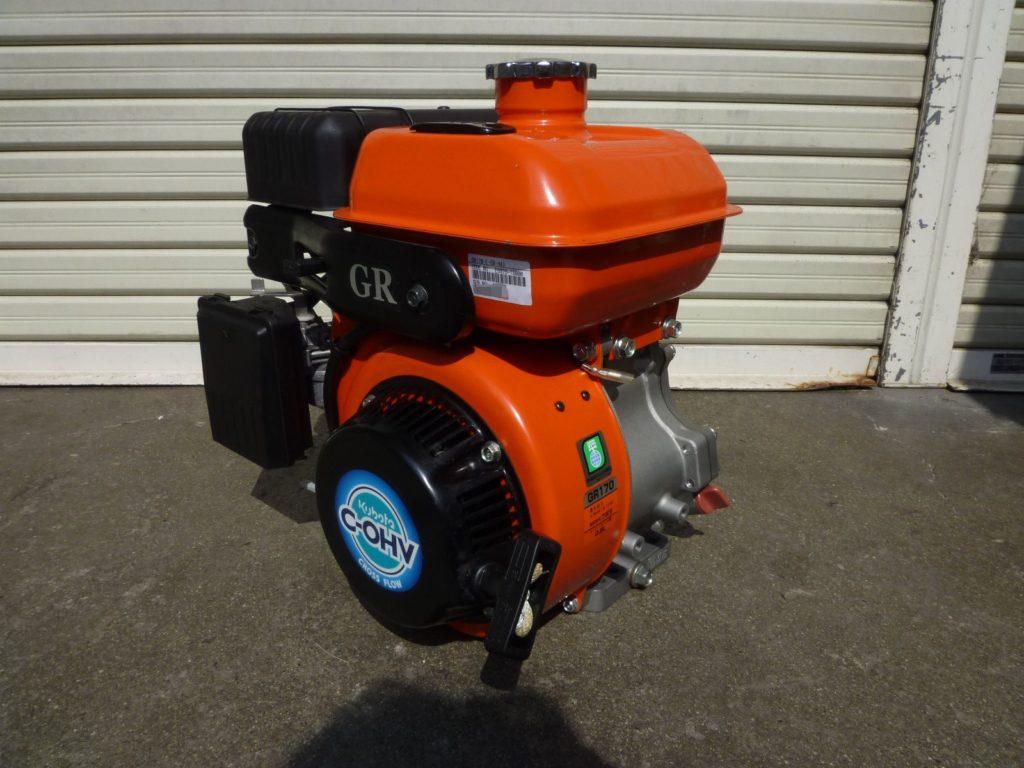 大阪府富田林市にてクボタのエンジン発動機を買取させて頂いたクリニーズの不用品買取事例