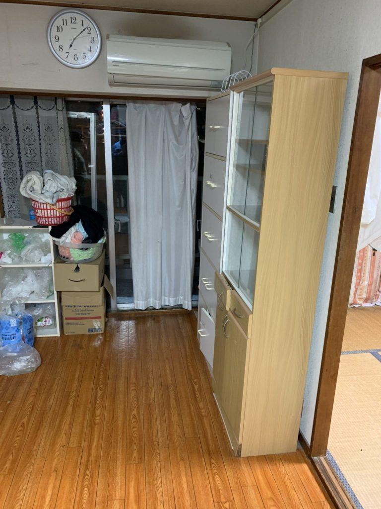 大阪市淀川区 家一軒丸ごと整理・お片付け A様 40代女性 前5