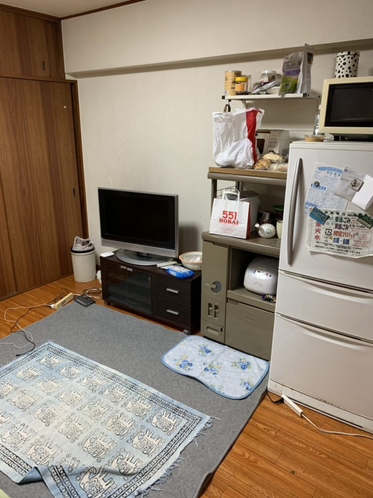 大阪市淀川区 家一軒丸ごと整理・お片付け A様 40代女性 前2