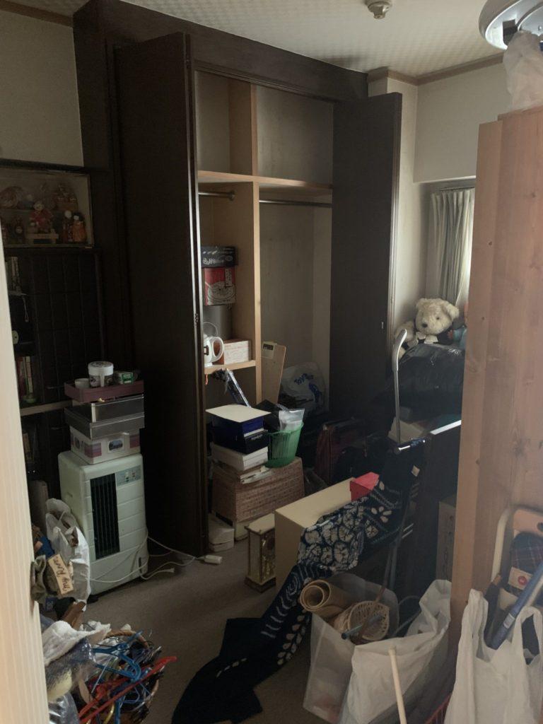 大阪市北区 生前整理 N様 20代女性 回収前3