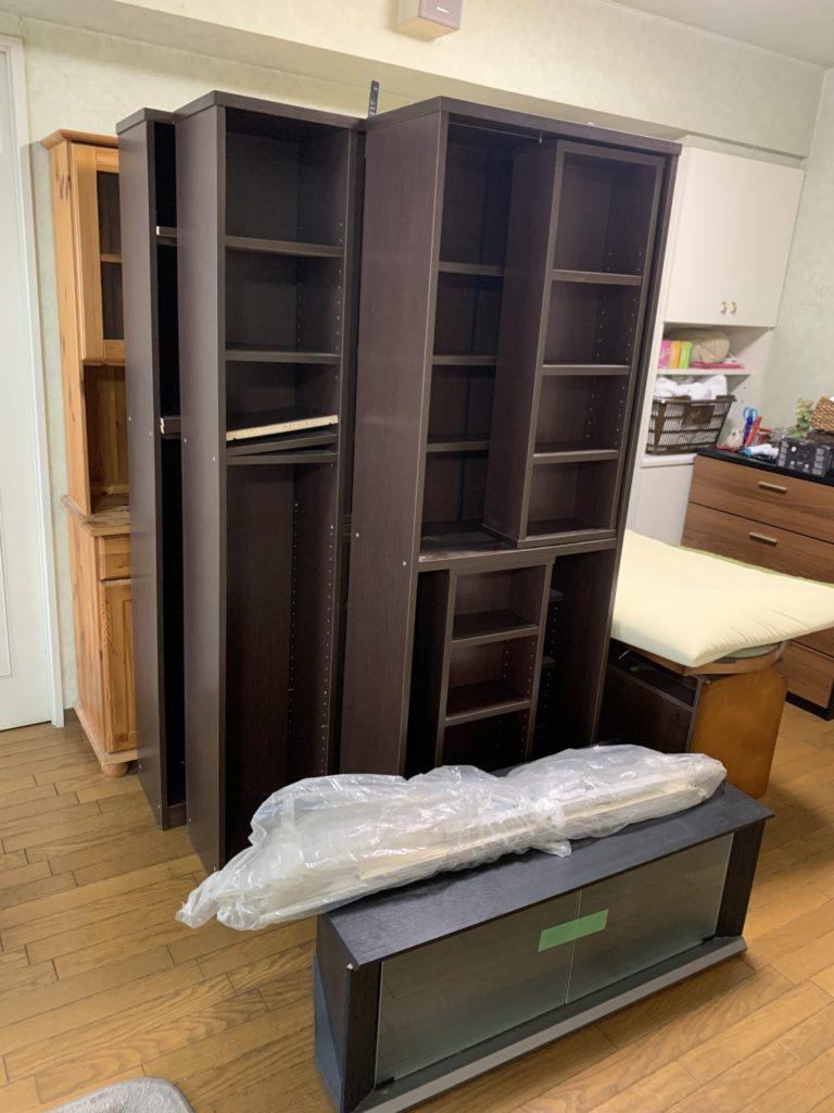 大阪市淀川区 大量の不用品処分 E様 40代男性 不用品回収作業実例