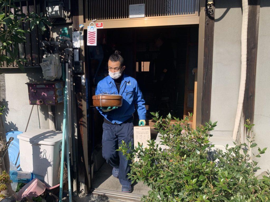 大阪市淀川区 介護整理・福祉住環境整理 K様 80代女性 作業前1