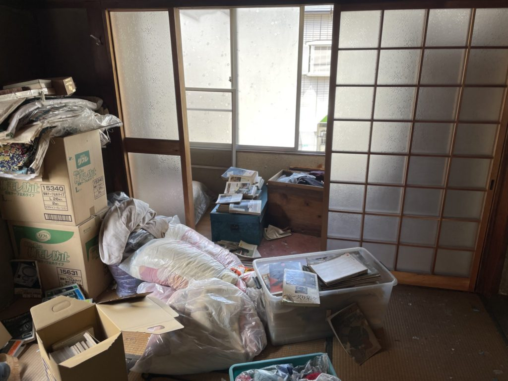 大阪市淀川区 遺品整理 N様60代女性 作業前4