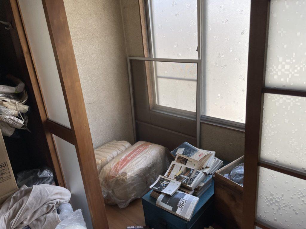 大阪市淀川区 遺品整理 N様60代女性 作業前6