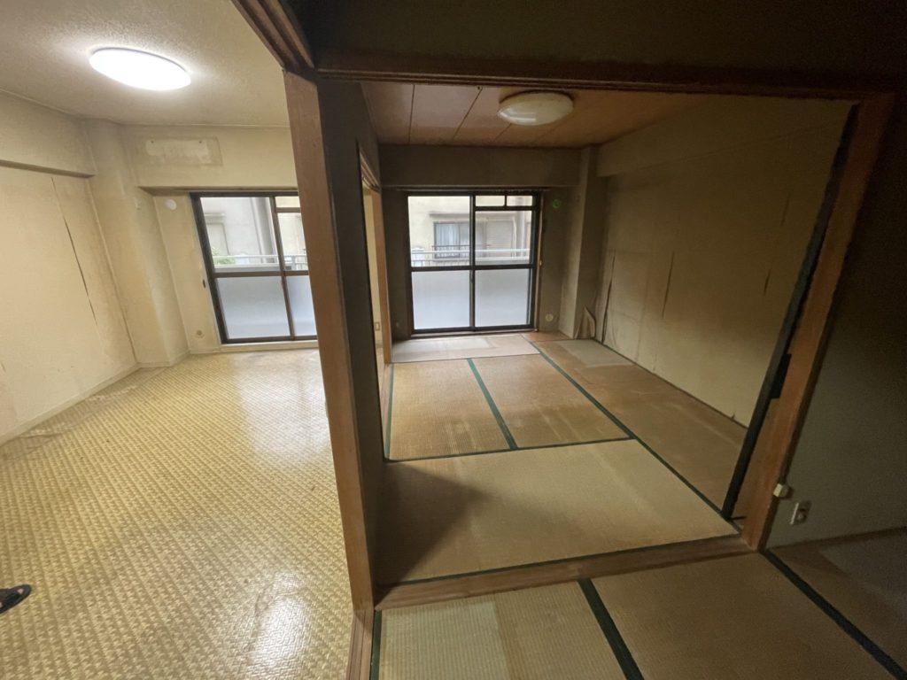 大阪市平野区 介護整理・福祉住環境整理 F様40代女性 不用品回収作業終了実例1
