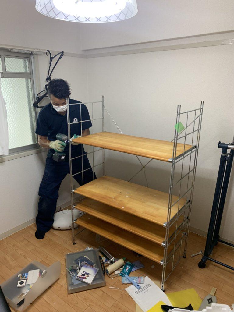 大阪府豊中市 大量の不用品処分 T様 30代男性 不用品回収作業実例4