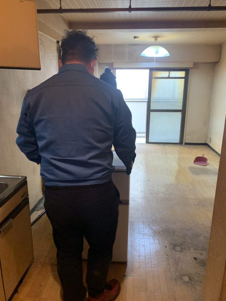 大阪市淀川区 家一軒丸ごと整理・お片付け M様50代男性 作業回収後