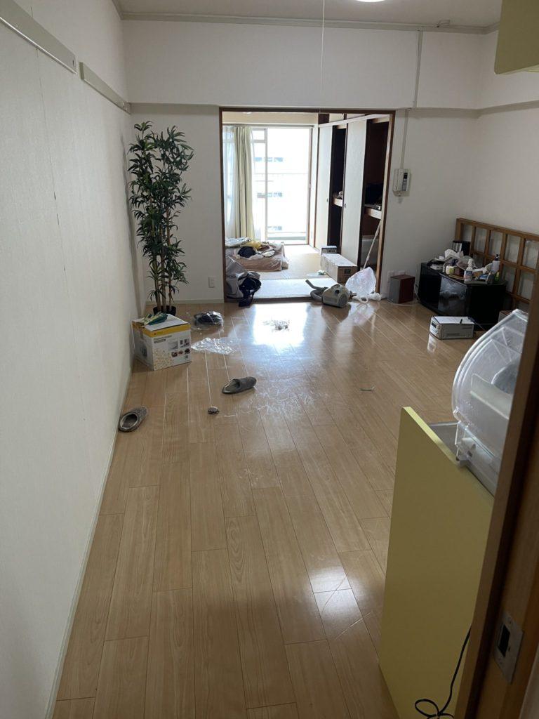 大阪市北区 大量の不用品処分 M様40代男性 不用品回収作業実例3