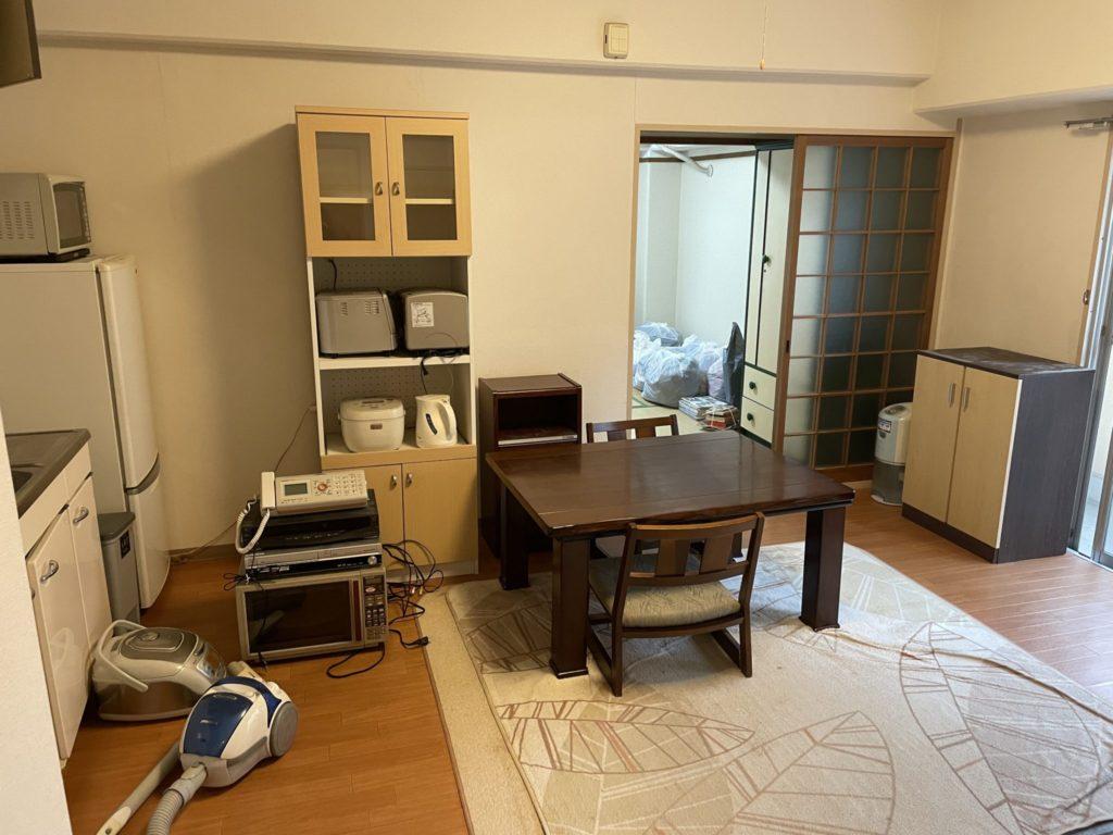 大阪市淀川区 家一軒丸ごと整理・お片付け N様40代女性 作業前1