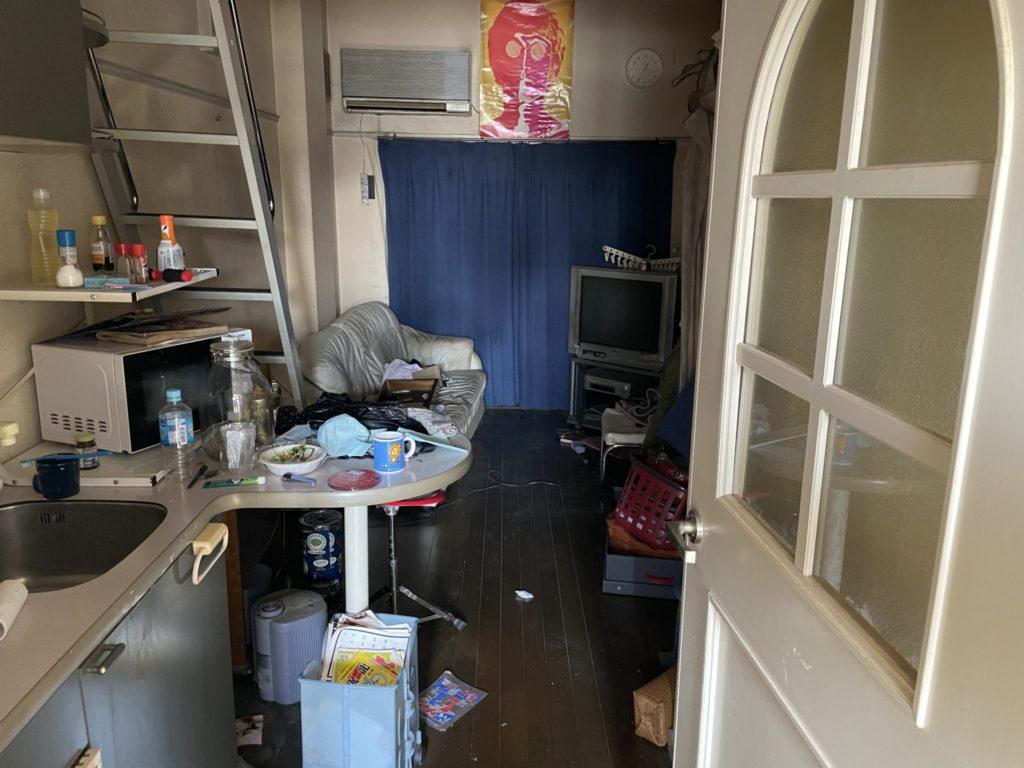 大阪市東成区 家一軒丸ごと整理・お片付け K様50代女性 作業前4