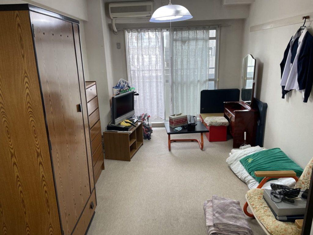 大阪市東淀川区 家一軒丸ごと整理・お片付け A様 40代女性 不用品回収前1