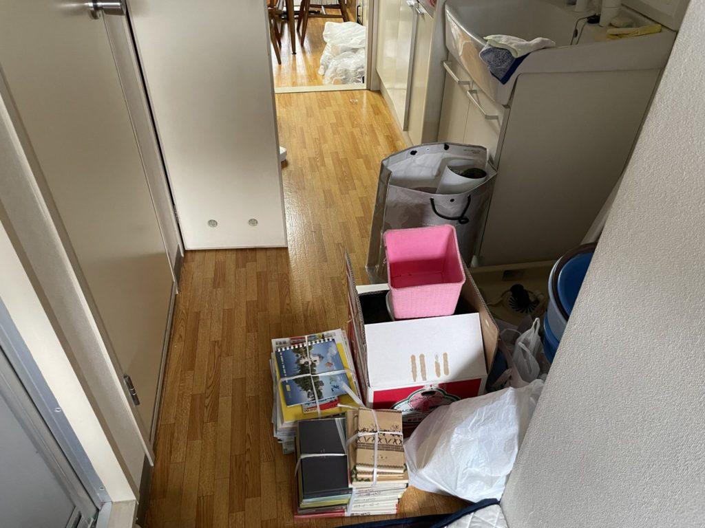 大阪市東淀川区 家一軒丸ごと整理・お片付け A様 40代女性 不用品回収前4