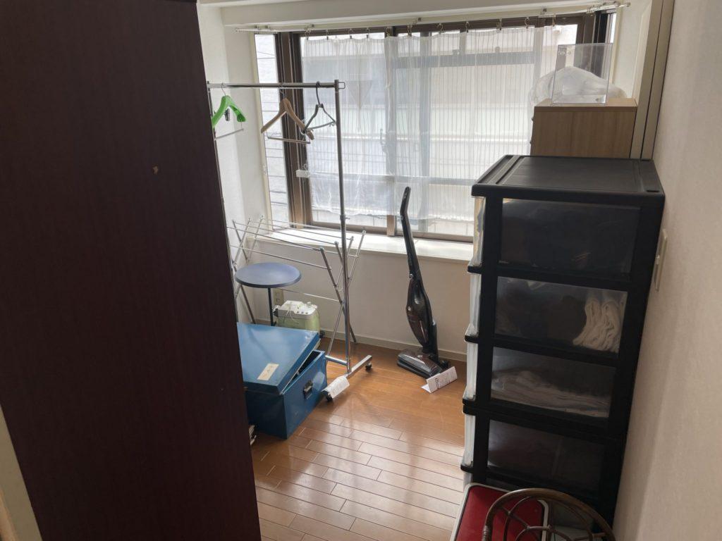 神戸市東灘区 遺品整理 K様 40代男性 不用品回収前3