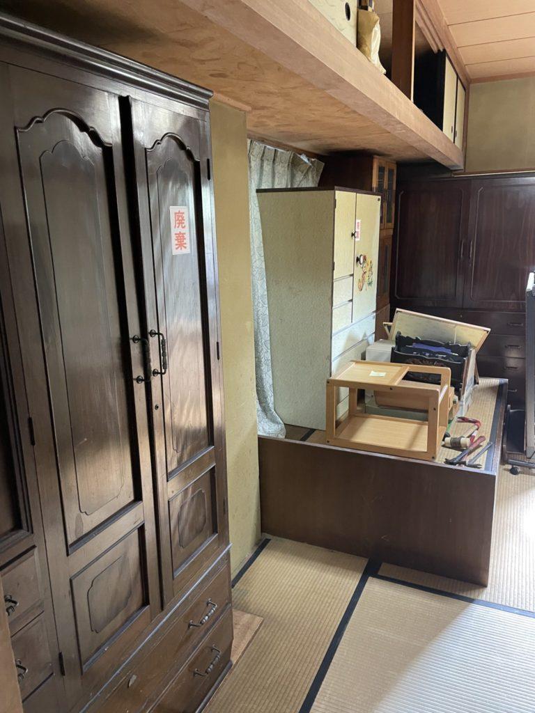 堺市南区 生前整理 W様 60代男性 不用品回収前8