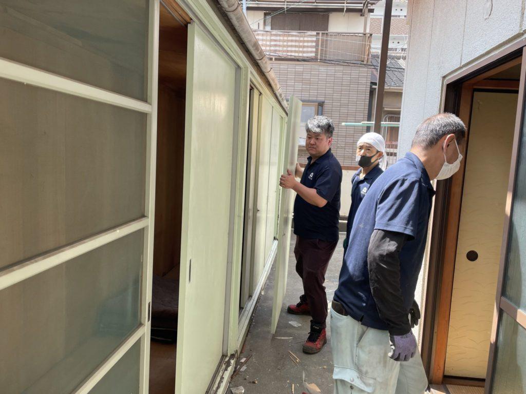 堺市南区 生前整理 W様 60代男性 不用品回収後1