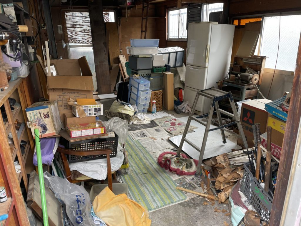 堺市東区 遺品整理 O様 20代男性 不用品回収前3