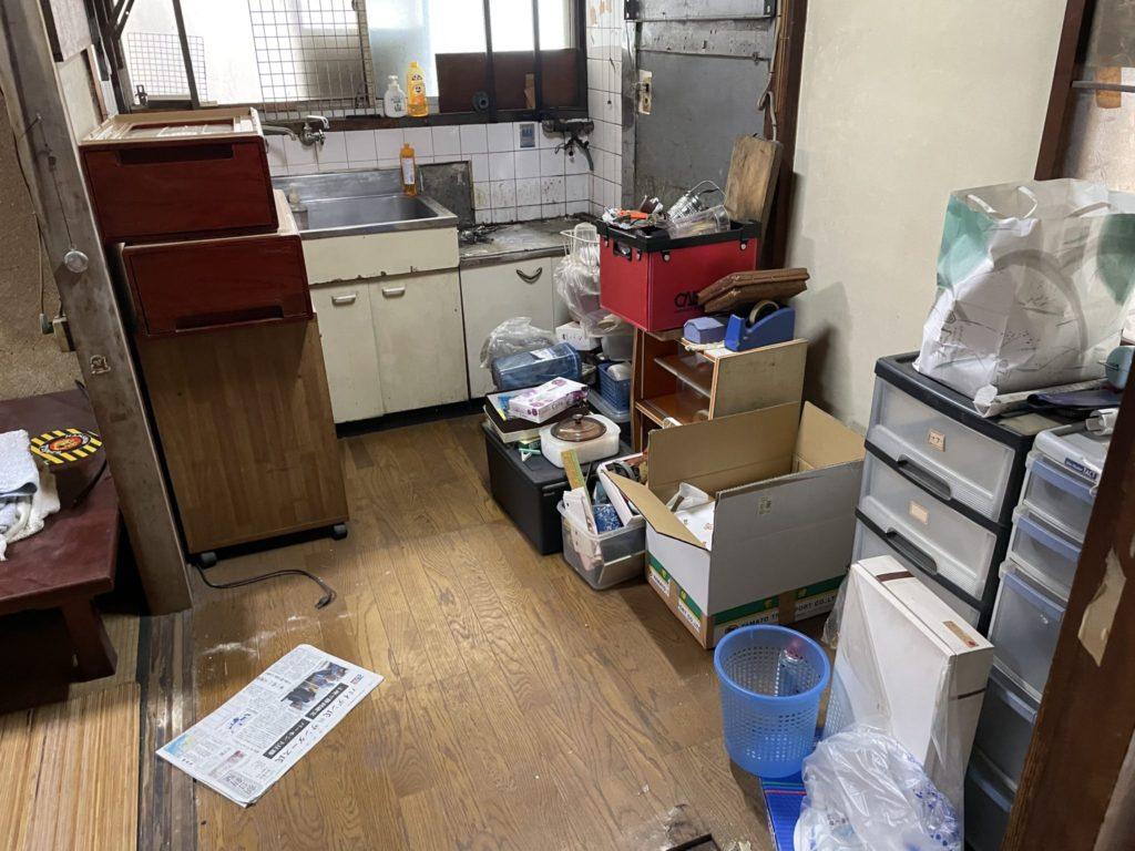 堺市東区 遺品整理 O様 20代男性 不用品回収前5
