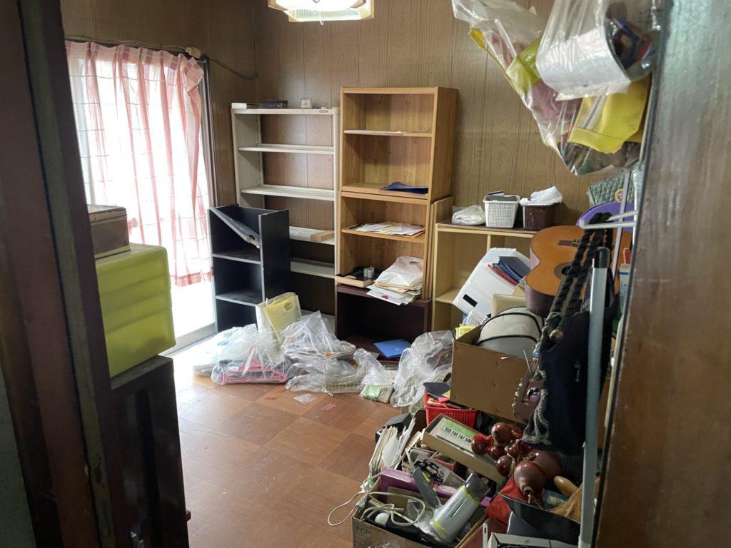 堺市東区 遺品整理 O様 20代男性 不用品回収前8