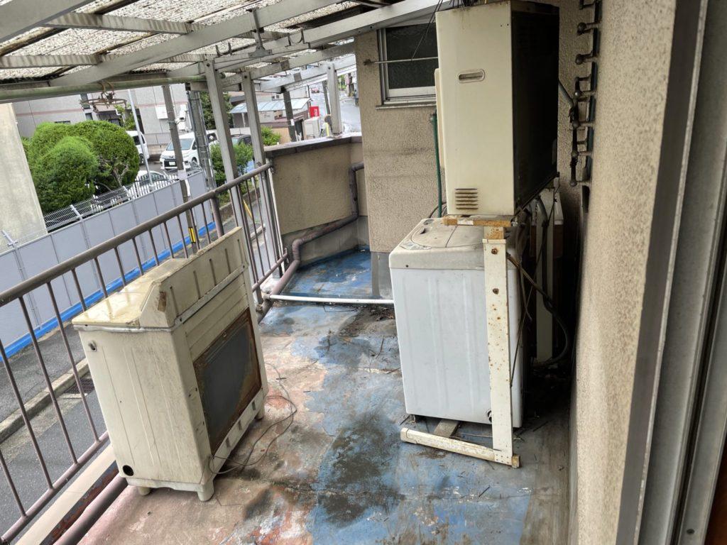 堺市東区 遺品整理 O様 20代男性 不用品回収前2