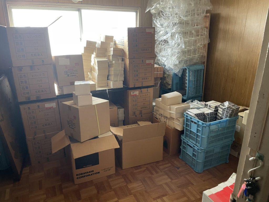 大阪府東大阪市 店舗・会社・倉庫・工場などの整理・不用品処分 S様 70代男性 不用品回収前3