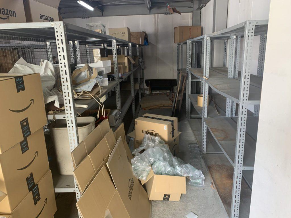 奈良県御所市 店舗・会社・倉庫・工場などの整理・不用品処分 法人のお客様 不用品回収前2