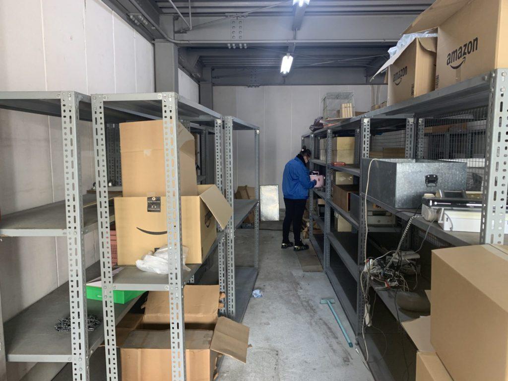 奈良県御所市 店舗・会社・倉庫・工場などの整理・不用品処分 法人のお客様 不用品回収前3