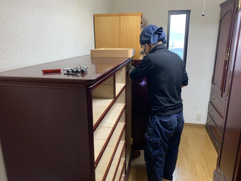 大阪府富田林市 大量の不用品処分 K様40代女性 不用品回収前8