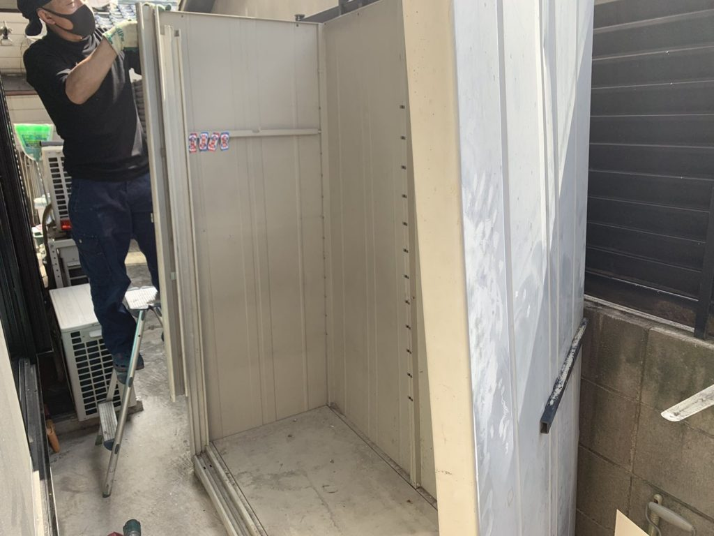 大阪府富田林市 大量の不用品処分 K様40代女性 不用品回収前9