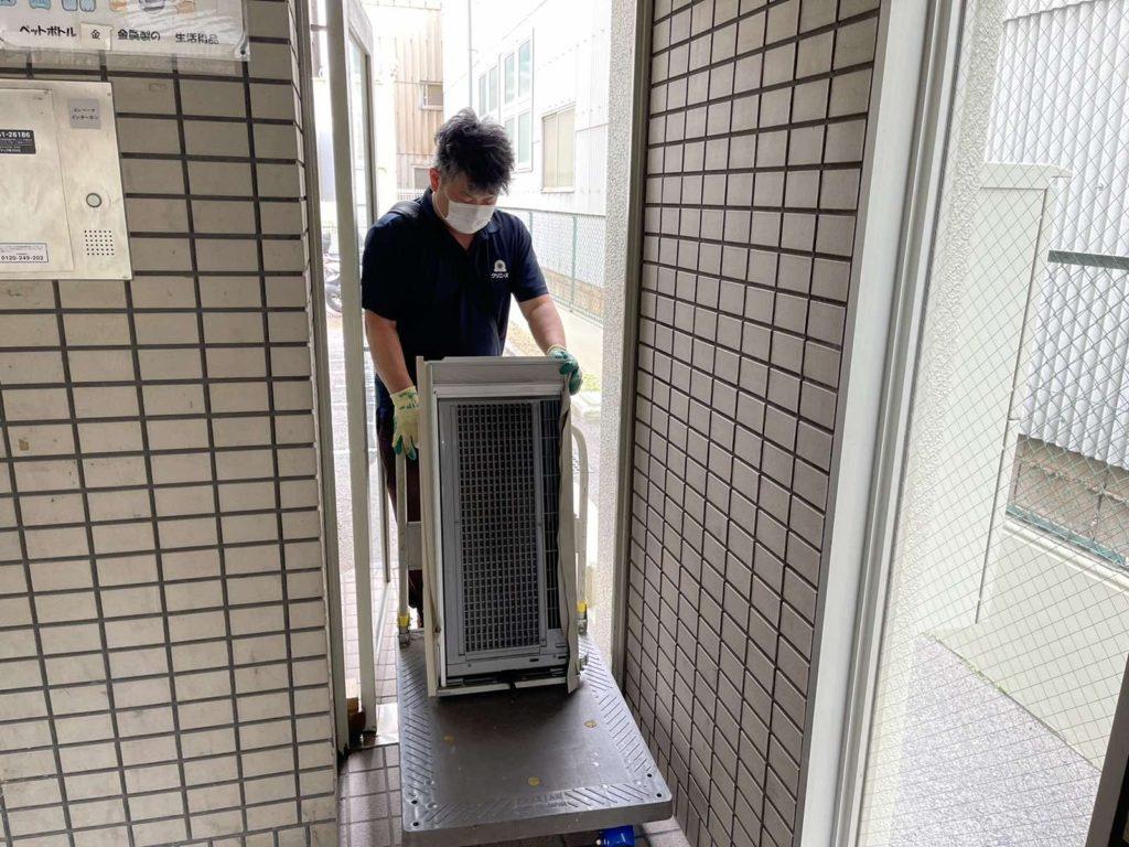大阪市港区 大量の不用品処分 H様30代女性 不用品回収