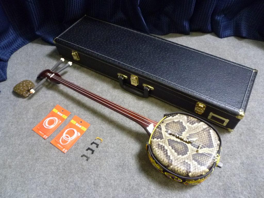 大阪市大正区にて三線を買取させて頂いたクリニーズの不用品買取事例