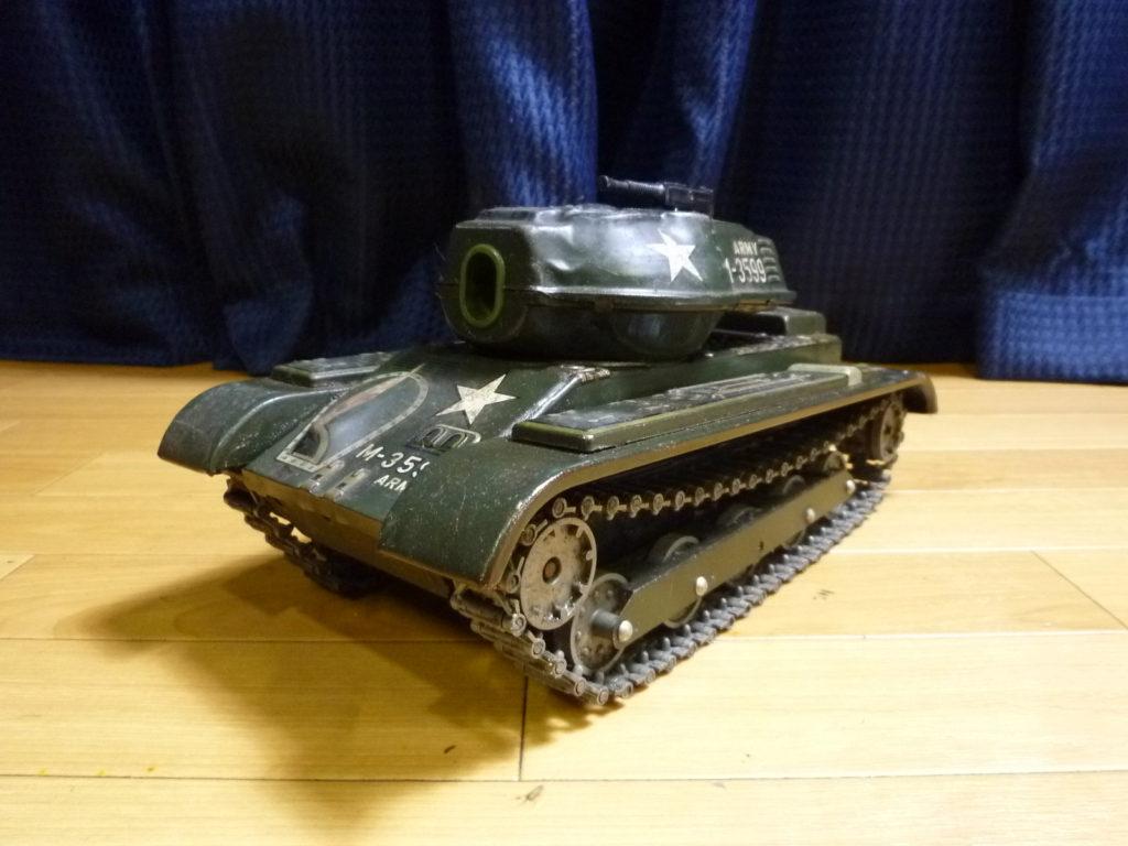 大阪市此花区にてマスダヤ ブリキ戦車模型を買取させて頂いたクリニーズの不用品買取事例