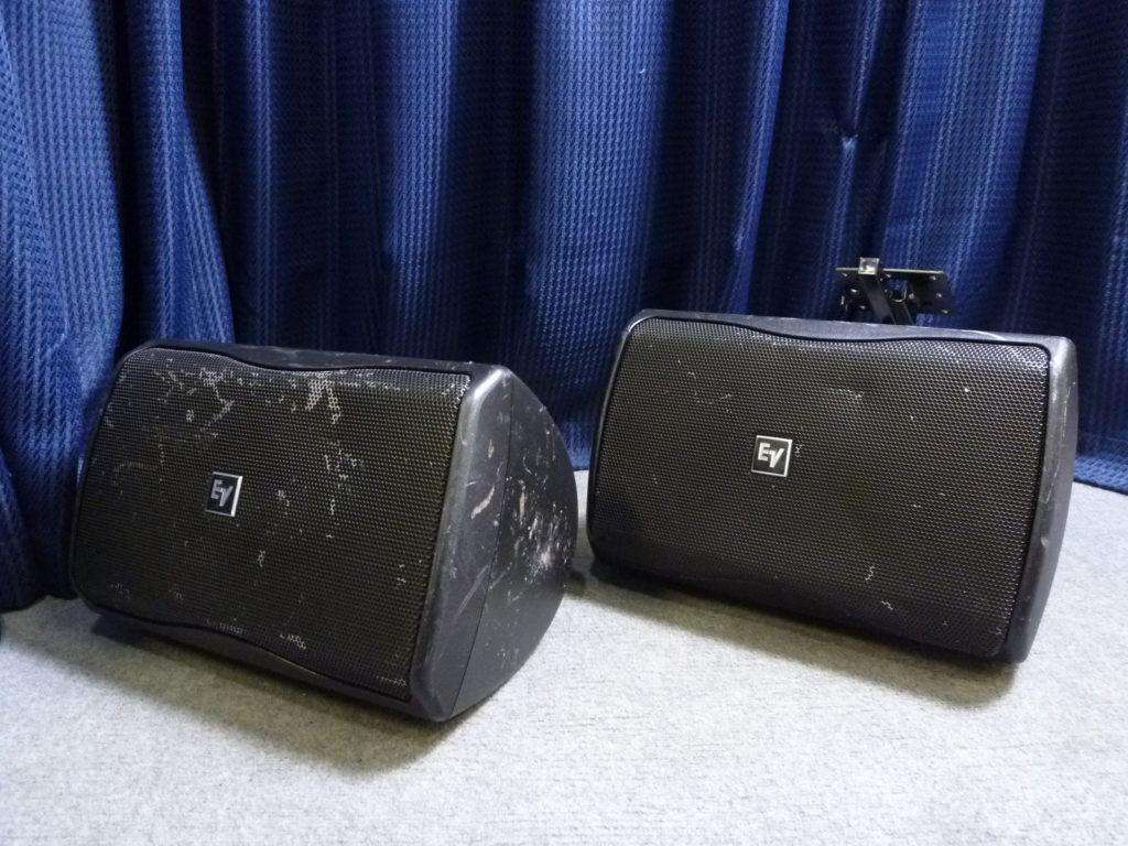豊能郡豊能町にて Electro Voice エレクトロボイス スピーカーを買取させて頂いたクリニーズの不用品買取事例