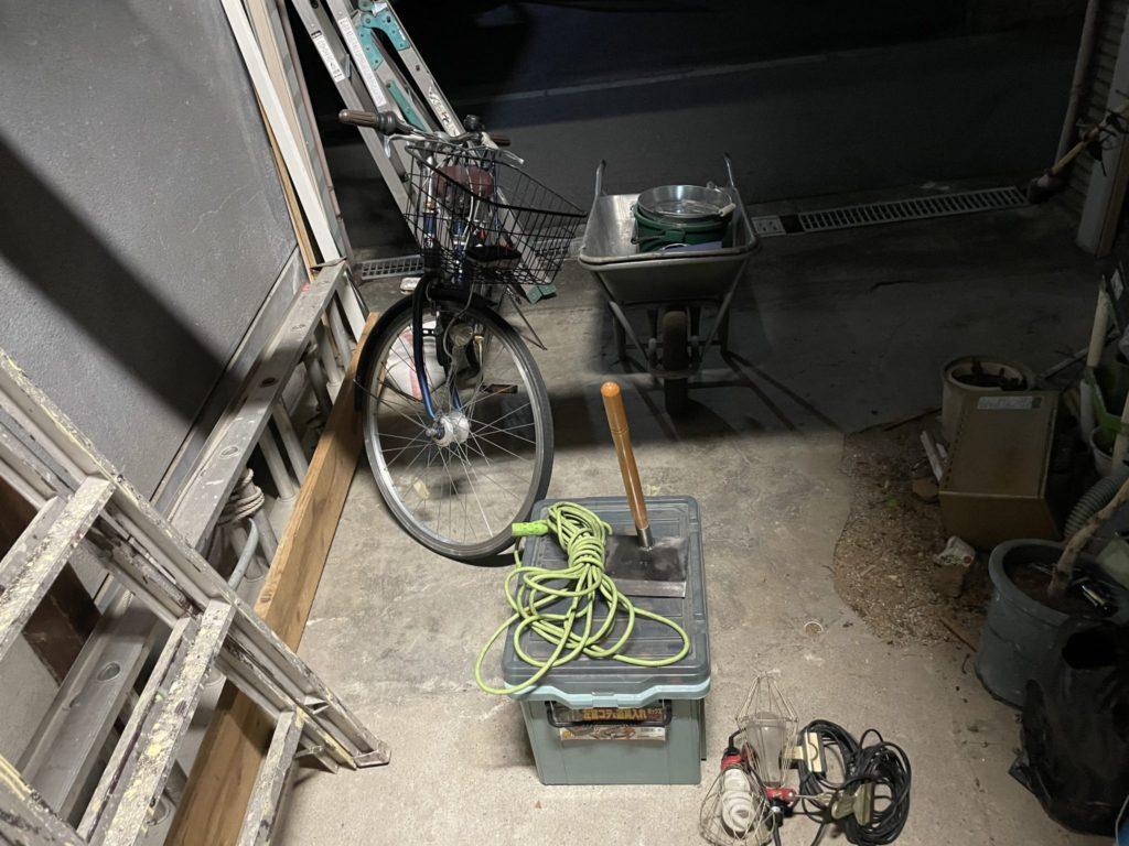 大阪市福島区 少量の不用品回収 T様80代男性 不用品回収前1