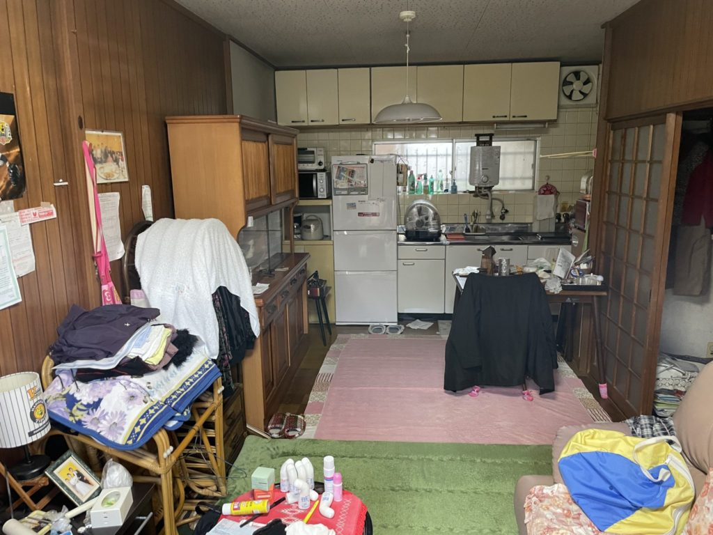 京都市西京区 生前整理 I様40代女性 不用品回収前4