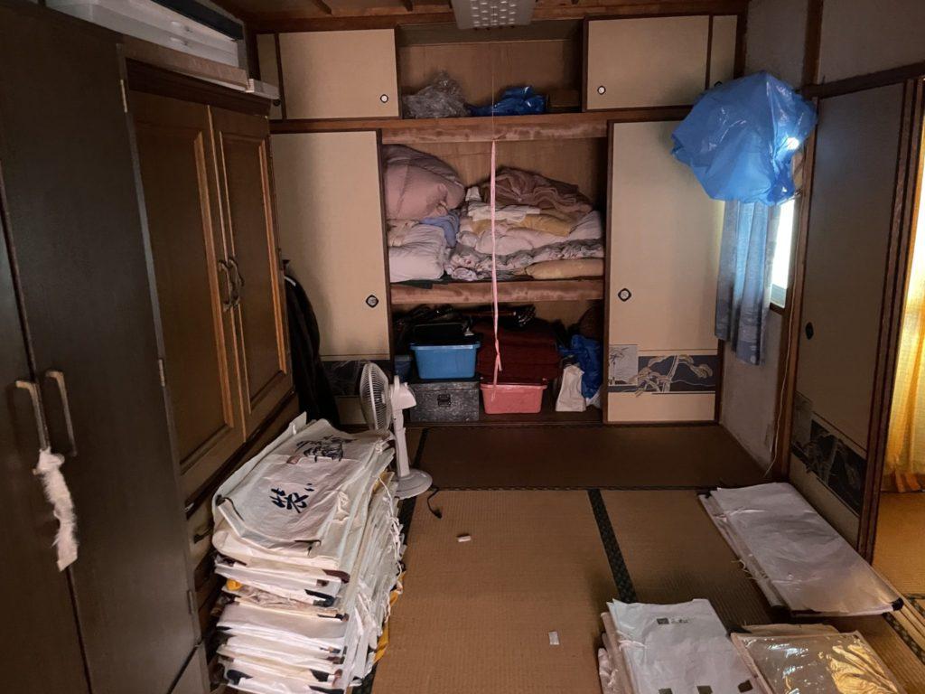 京都市西京区 生前整理 I様40代女性 不用品回収前8
