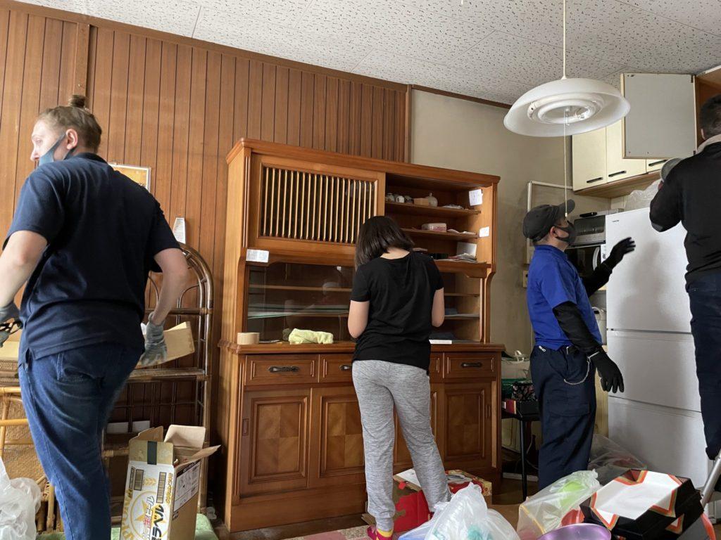 京都市西京区 生前整理 I様40代女性 不用品回収前5
