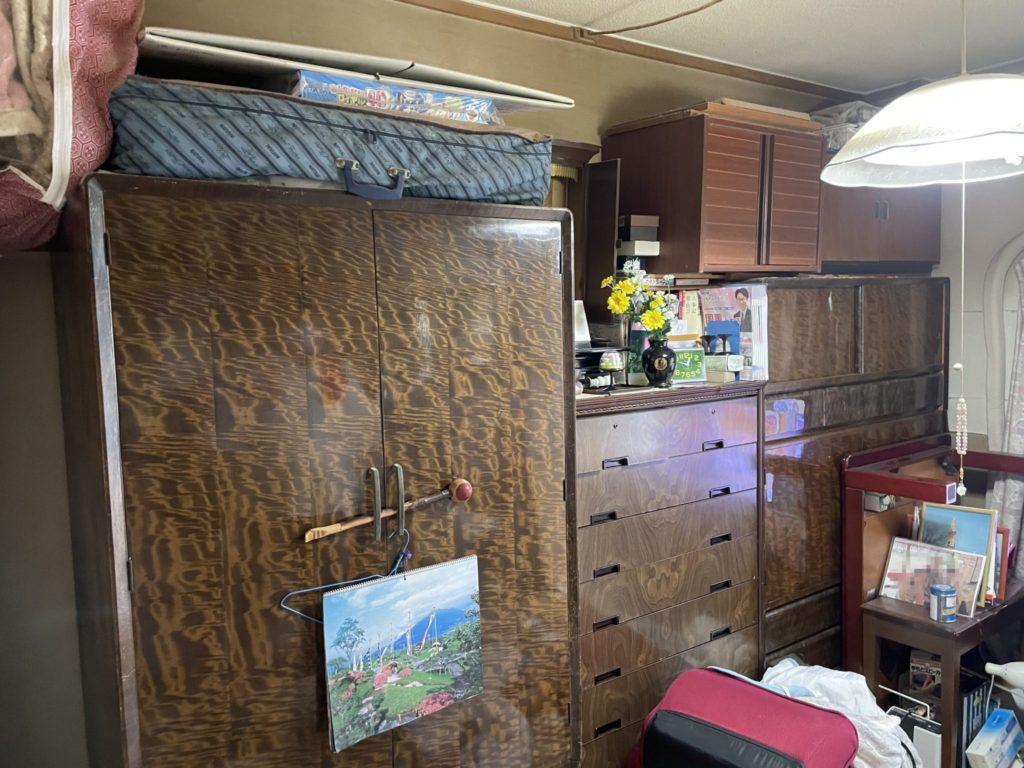 大阪市生野区 家一軒まるごと整理・お片付け 法人のお客様 不用品回収前2