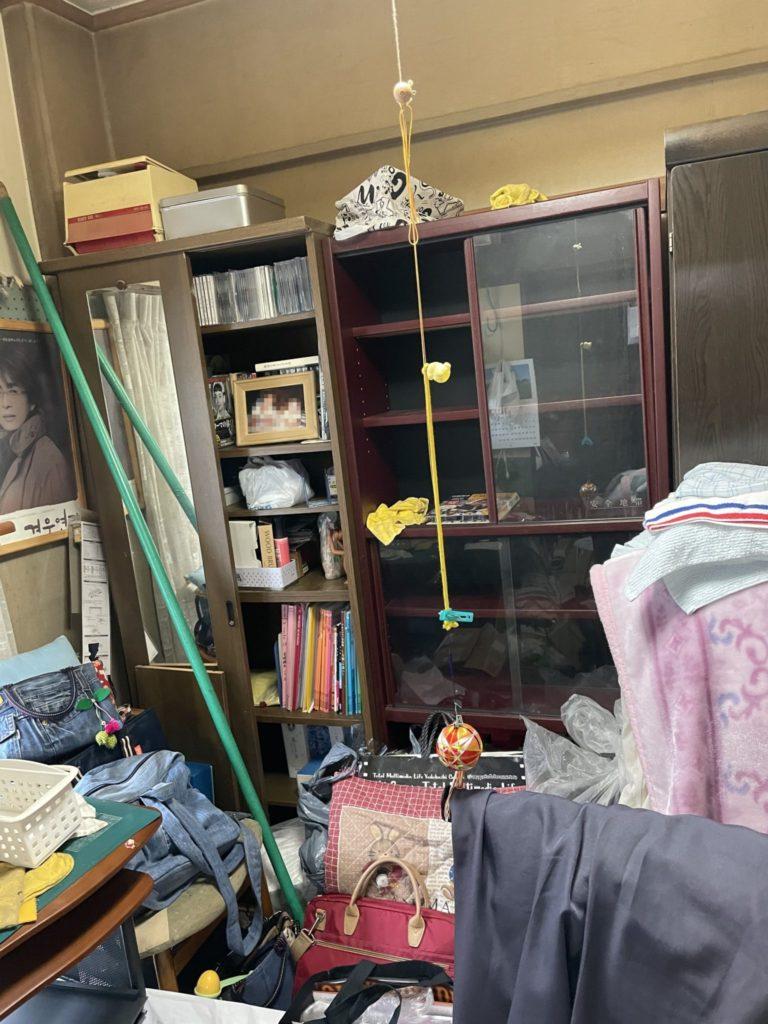 大阪市生野区 家一軒まるごと整理・お片付け 法人のお客様 不用品回収前3
